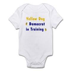 YellowDog Dem in Training Infant Creeper