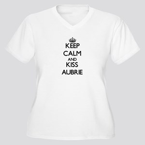 Keep Calm and kiss Aubrie Plus Size T-Shirt