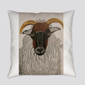 Irish Sheep Everyday Pillow