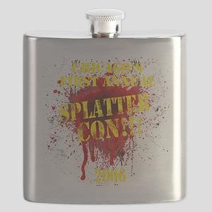 Splatter Con!!! Dark Flask