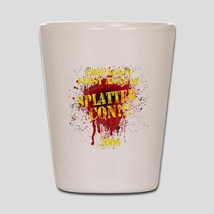 Splatter Con!!! Dark Shot Glass
