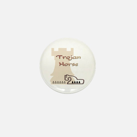 Trojan Horse Chess Mini Button