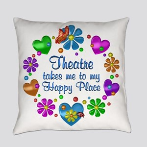Theatre My Happy Place Everyday Pillow