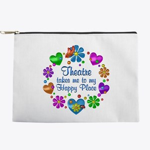 Theatre My Happy Place Makeup Pouch