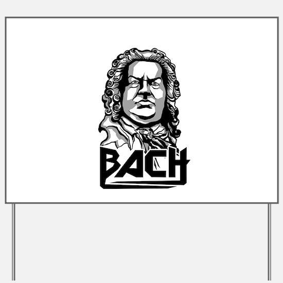 Johann Sebastian Bach Yard Sign