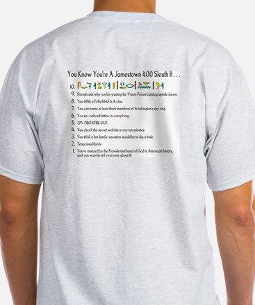 Jamestown 400/You Know You're T-Shirt