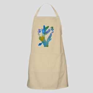 Coral and seahorses Light Apron