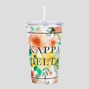 Kappa Delta Floral Acrylic Double-wall Tumbler