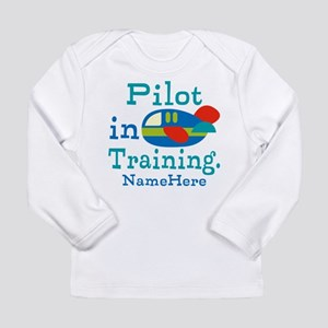 Personalized Pilot in Training Long Sleeve Infant
