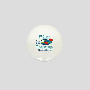 Personalized Pilot in Training Mini Button