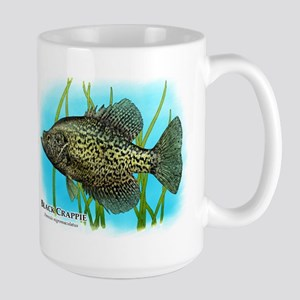 Black Crappie 15 oz Ceramic Large Mug