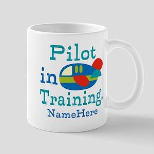 Personalized Pilot in Training Mugs