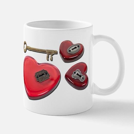 WhichHeartUnlock071611 Mugs