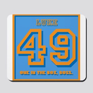 49, one in the box, Boss Mousepad