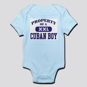 Property of a Cuban Boy Infant Bodysuit
