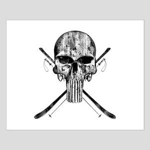 Ski Skull Posters