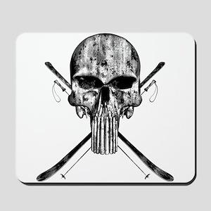 Ski Skull Mousepad