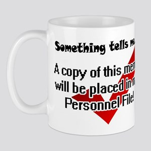 Personnel File Mug