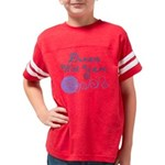 Dances With Yarn Youth Football Shirt