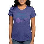 Dances With Yarn Womens Tri-blend T-Shirt