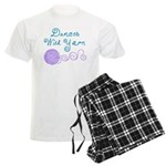 Keep Easter Happy Men's Light Pajamas