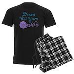 Dances With Yarn Men's Dark Pajamas