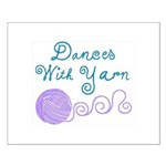 Dances With Yarn Small Poster
