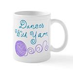 Dances With Yarn 11 oz Ceramic Mug