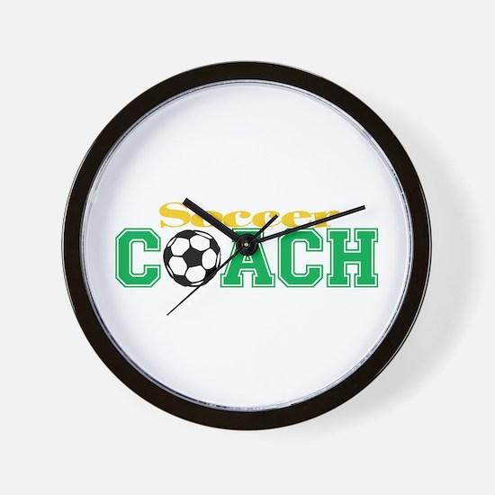 Soccer Coach Wall Clock