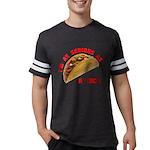 SeriousAsATacoRed Mens Football Shirt