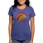 SeriousAsATacoRed Womens Tri-blend T-Shirt