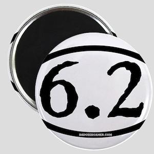 6.2 - plain - ticonderoga - circl Magnets