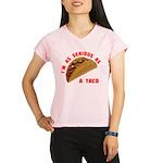SeriousAsATacoRed Performance Dry T-Shirt