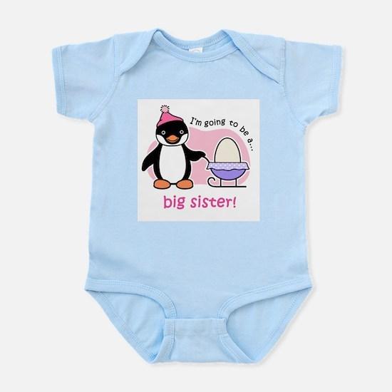 Big Sister to be (Penguin) Infant Bodysuit