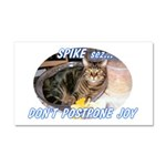 spike2BIGa Car Magnet 20 x 12