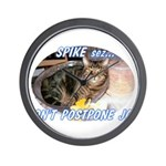 spike2BIGa Wall Clock