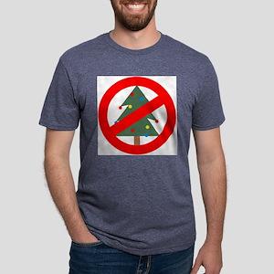 NoXmas Mens Tri-blend T-Shirt