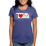 kimba Womens Tri-blend T-Shirt
