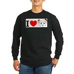 kimba Long Sleeve Dark T-Shirt