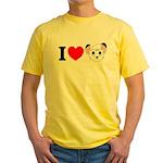 kimba Yellow T-Shirt
