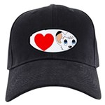 kimba Black Cap with Patch