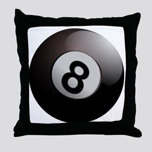 Eightball  Throw Pillow