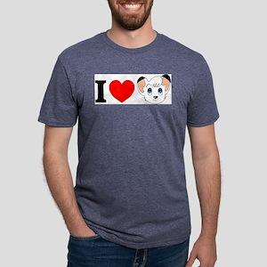 kimba Mens Tri-blend T-Shirt
