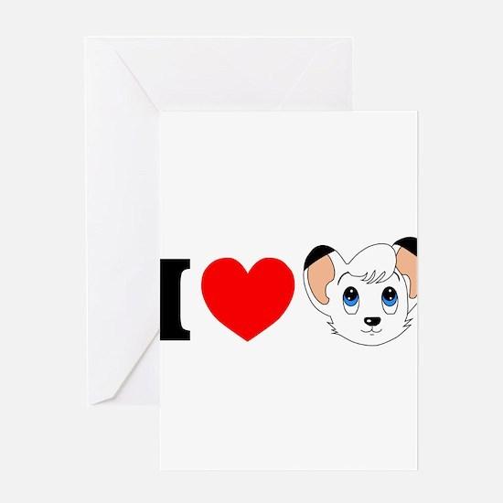 kimba.jpg Greeting Card