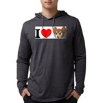 kitty1 Mens Hooded Shirt