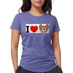 kitty1 Womens Tri-blend T-Shirt