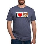 kitty1 Mens Tri-blend T-Shirt