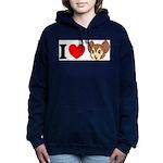 kitty1 Women's Hooded Sweatshirt