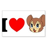 kitty1 Sticker (Rectangle 50 pk)