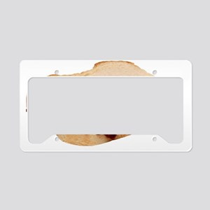 Peanut Butter and Jelly Sandw License Plate Holder